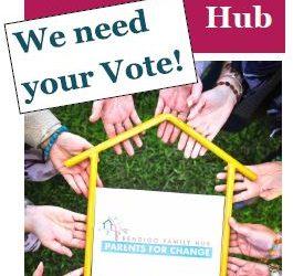 Cast your vote – Bendigo Family Hub – Pick My Project Initiative